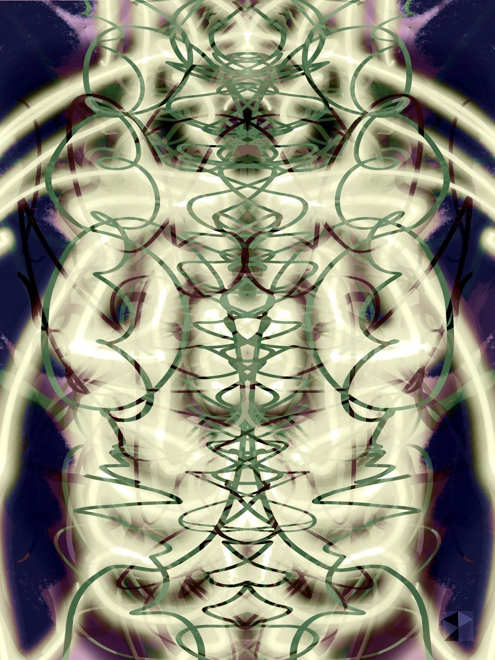 Bones   Electronics Paintings  Maya 2019 SP  dimensions variable