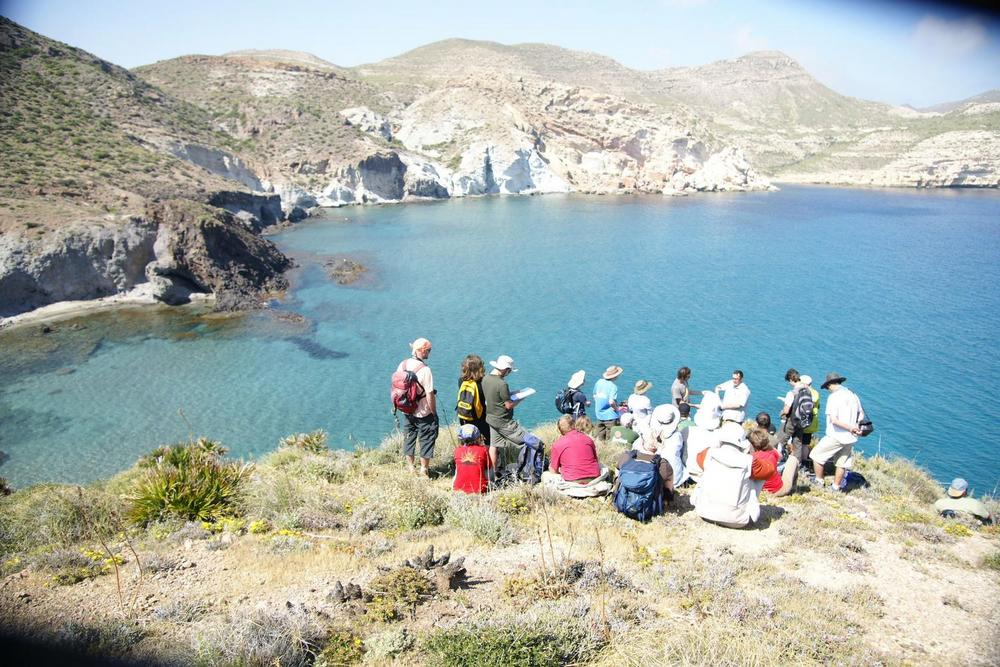 Cabo de Gata workshop participants