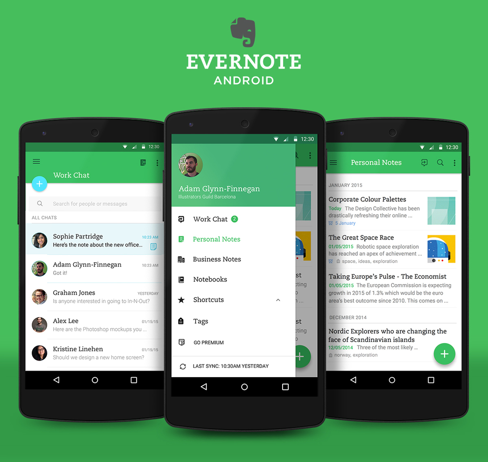 android_evernote_material