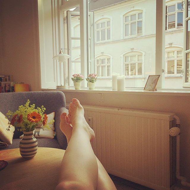 Åh lørdag du er god ved mig ❤️ #numedpudsedevinduer #østerbro #fridag #solskin #roisjælen