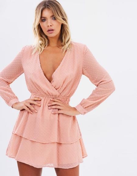 Annabelle Ruffle Dress  - ATMOS&HERE
