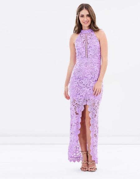 Lace Embrace Maxi Dress - ROMANCE
