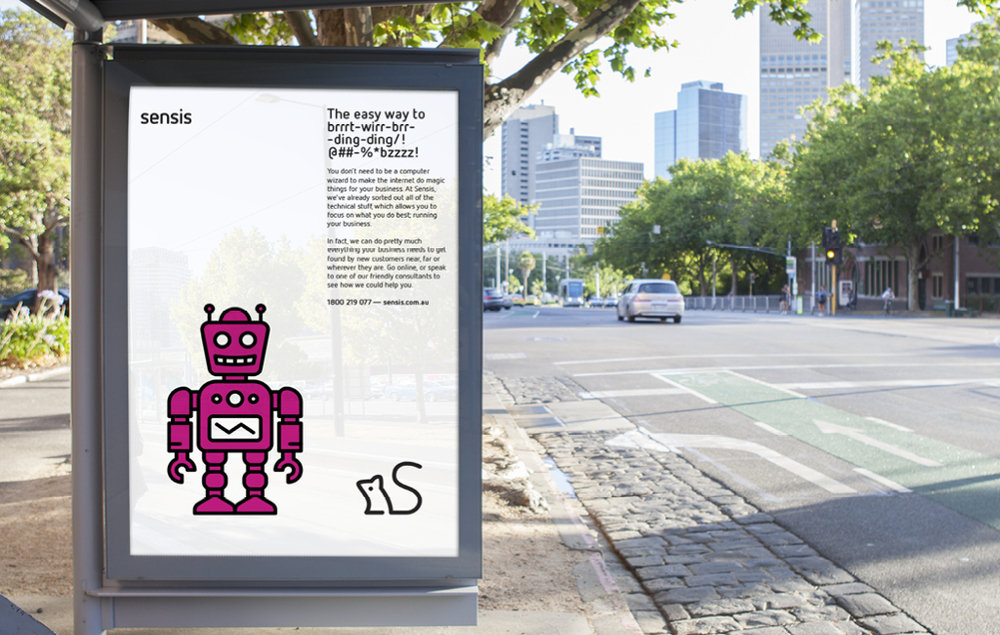 Sensis Brand Identity Interbrand Australia