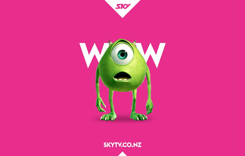 SKY TV New Zealand Brand Identity Interbrand Australia