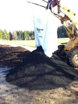 biochar in a bigbag (1.3m3)