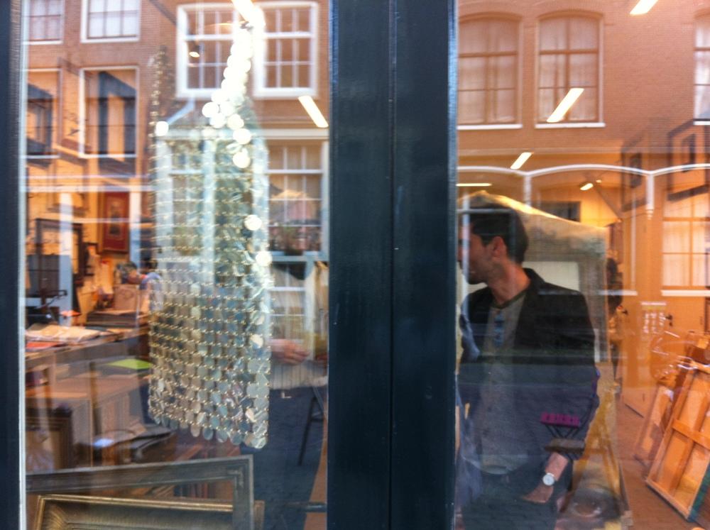 Paco Rabanne Chainmail Dress, Amsterdam 2010