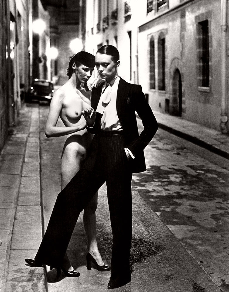 Yves Saint Laurent by Helmut Newton