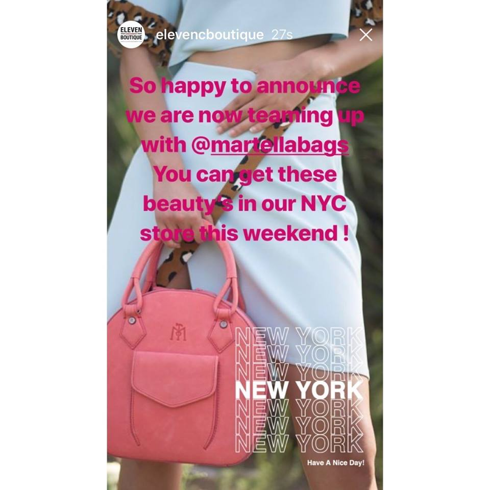 Photo Credit:  @elevencboutique    Eleven Consignment Boutique |180 1st. Ave (NY, NY 1009)