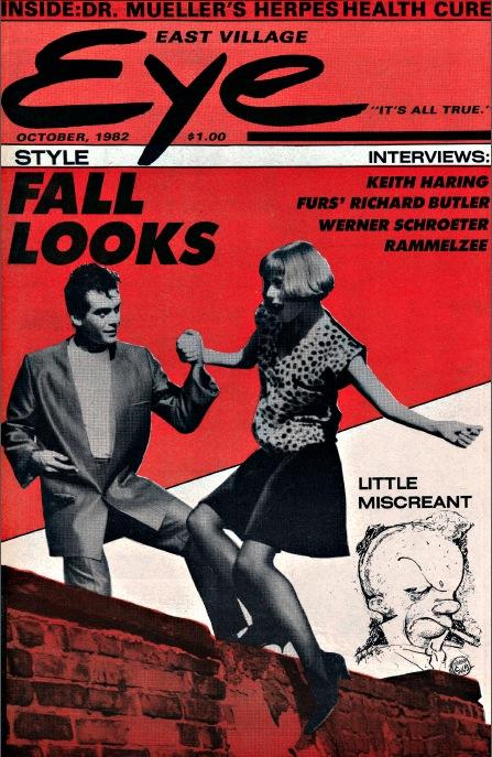 East Village Eye, October 1982