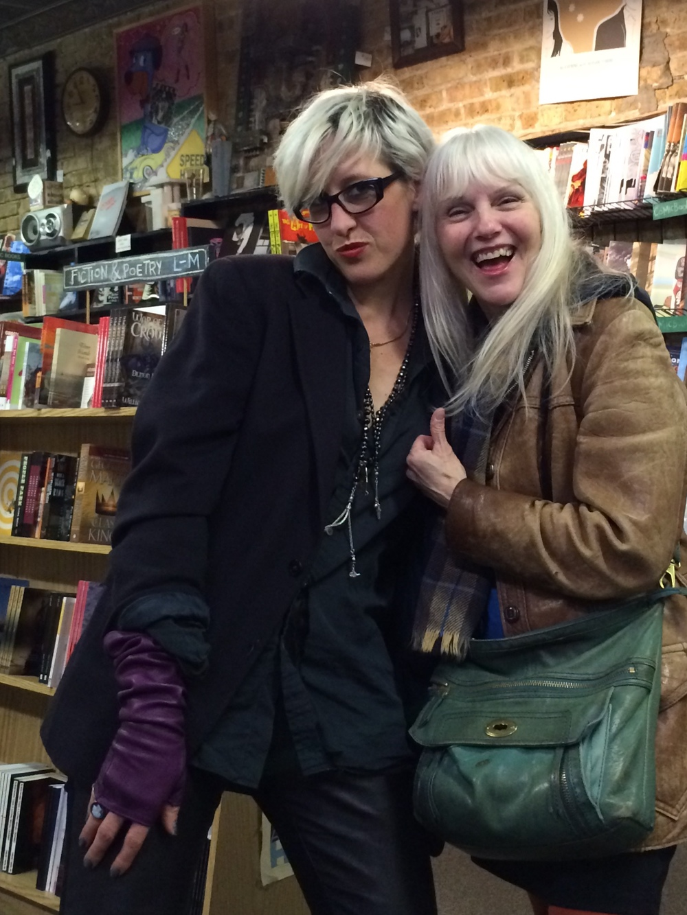 Cynthia Plaster Caster and Chloe, Quimby's