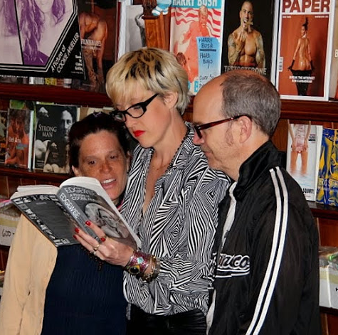 Maria, Chloe and Gary Fembot at the MAGAZINE (Martin Rosen)