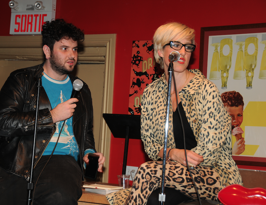 Joshua Pavan and Chloe at Drawn and Quarterly
