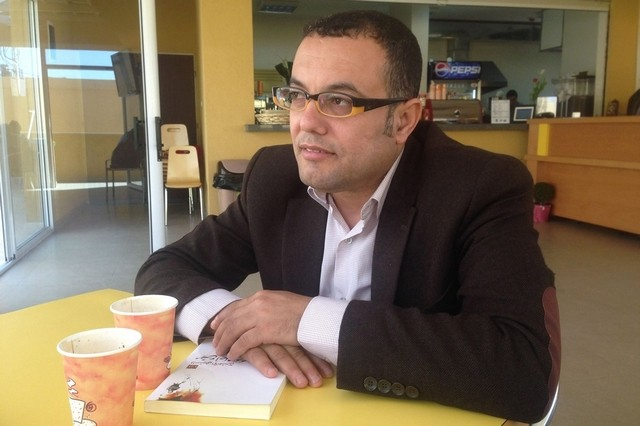 Editor of the Book of Gaza, author Atef Abu Saif. Pic: courtesy Comma Press
