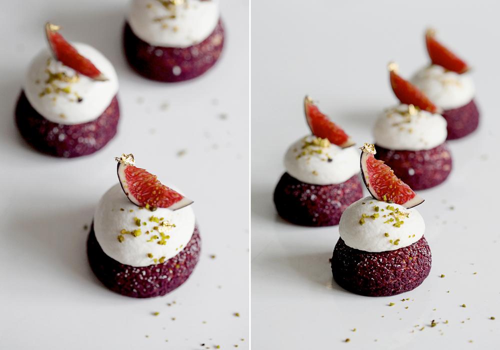 Choux Lavandre, Figs & Chantilly Miel
