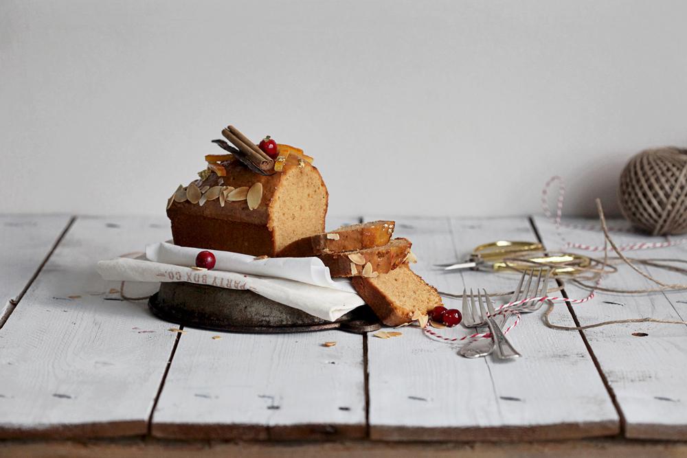 Orange Blossom & Cinnamon Cake