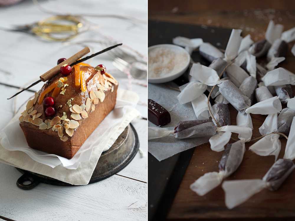 Christmas Edition 2014; Orange Blossom & Cinnamon Cake, Les Caramels Chocolat
