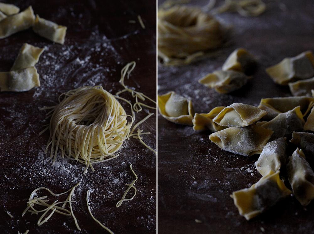 Fresh Yolk Spaghetti & Agnolotti