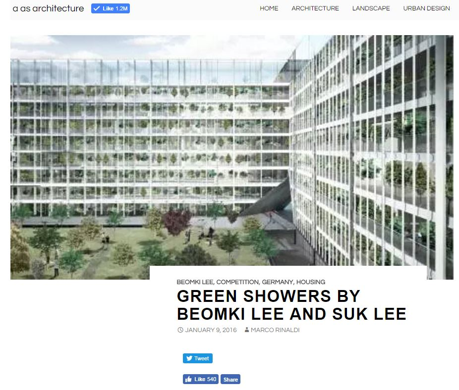 A As Architecture - Green Showers