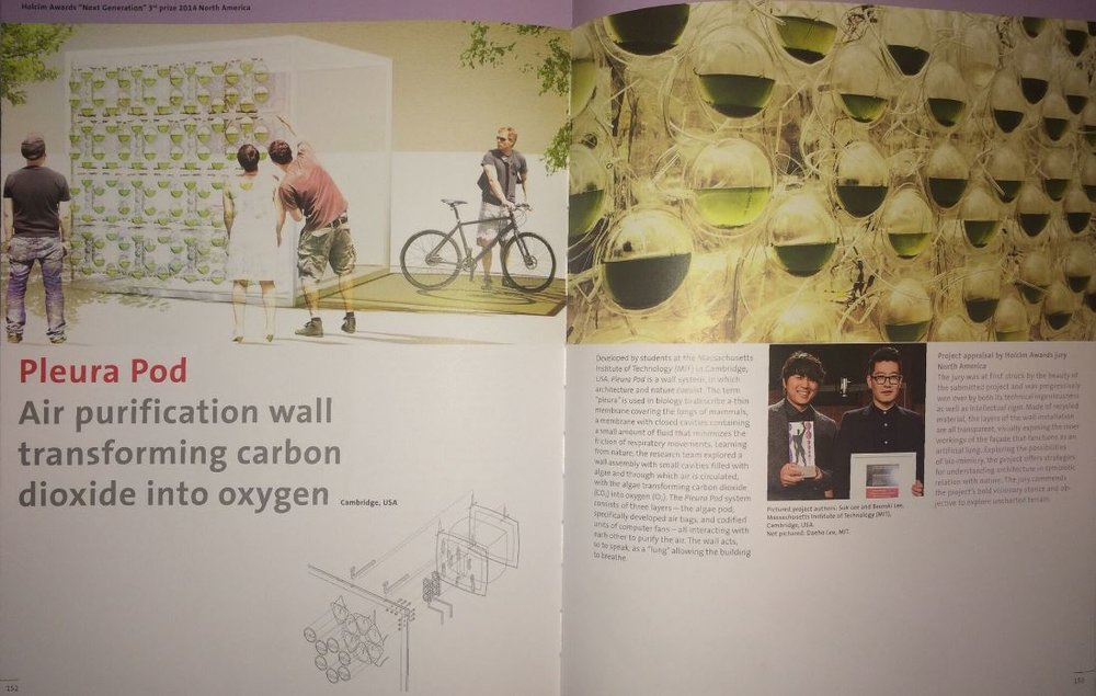 Fourth Holcim Awards – Sustainable Construction 2014/2015 - Pleura Pod (Printed  Publication )