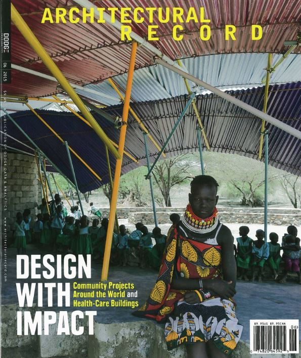 Architectural Record - Konokono Center (Printed  Publication)