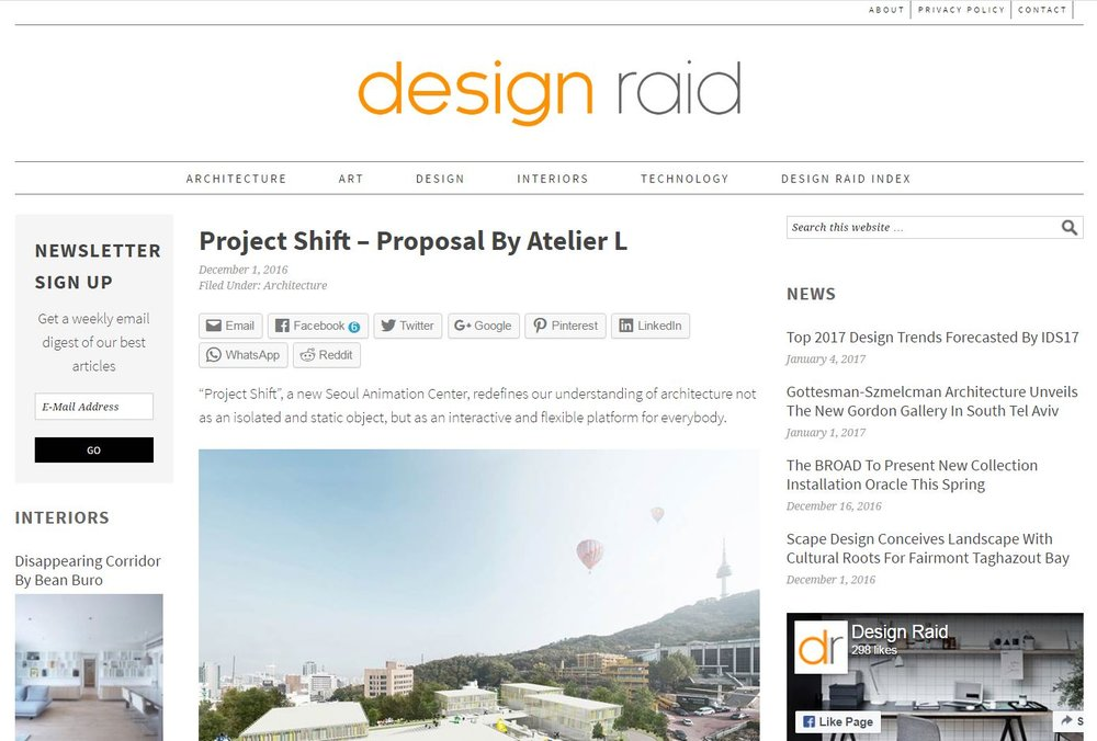 Design Raid - Project Shift
