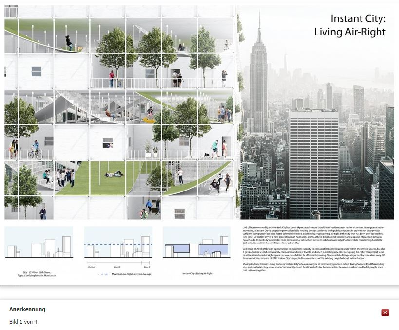 wettbewerbe-aktuell - Instant City: living Air-Right