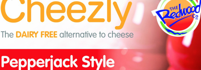 Cheezly Pepperjack Style - my favourite vegan cheese!