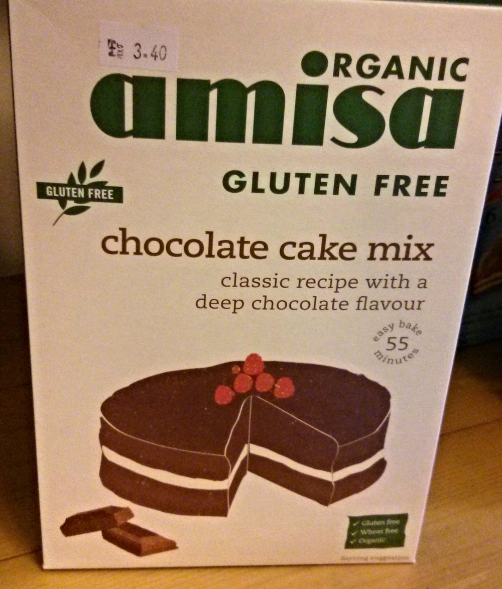 Vegan AND Gluten Free Cake mix