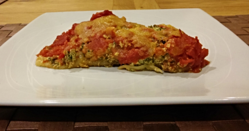 Kale and Spinach Cannelloni