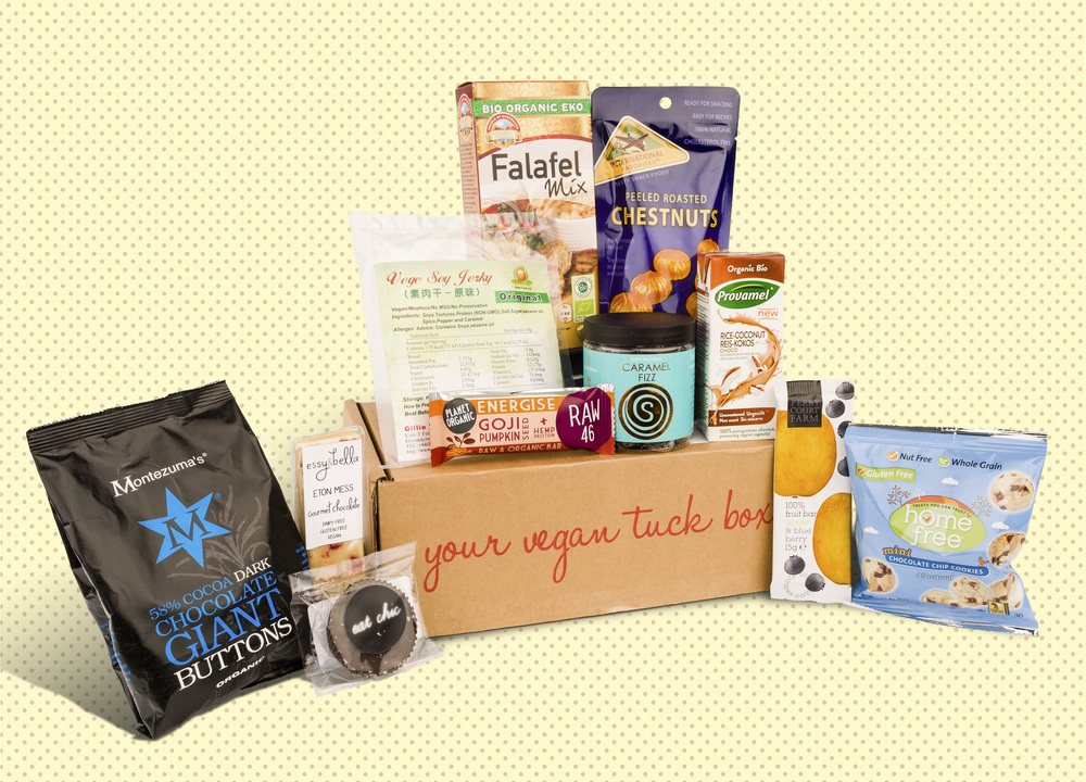 Vegan Tuck Box of July 2015