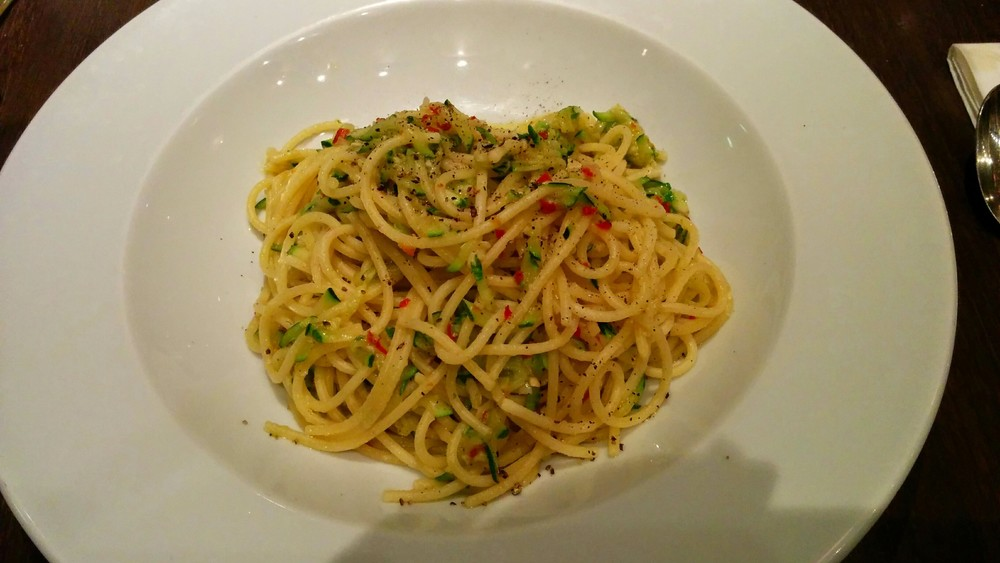 Link to delicious vegan food at Carluccio's