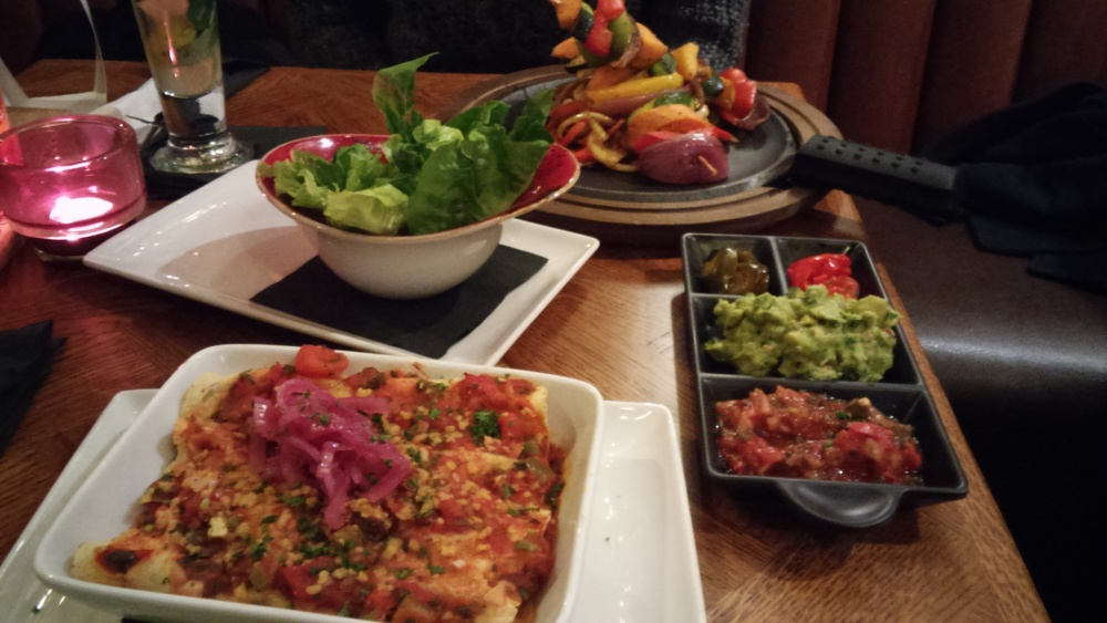 Link to vegan options in Chiquito