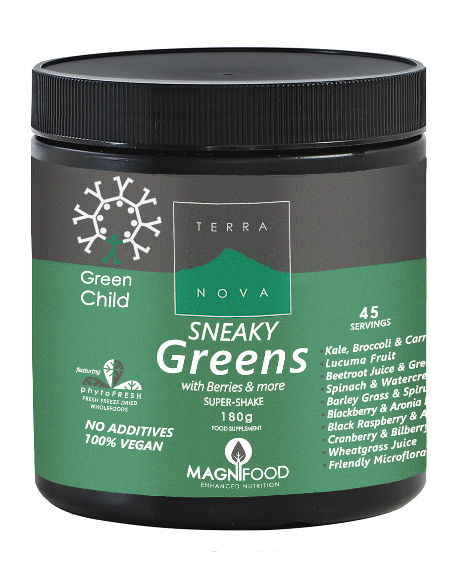 1new - GREEN CHILD SNEAKY GREENS 180g.jpg