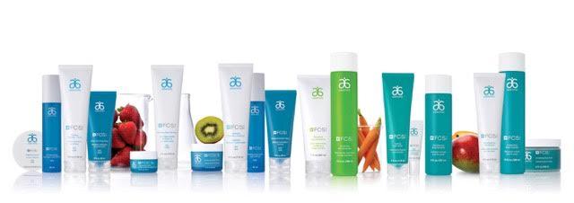 FC5 skin care range