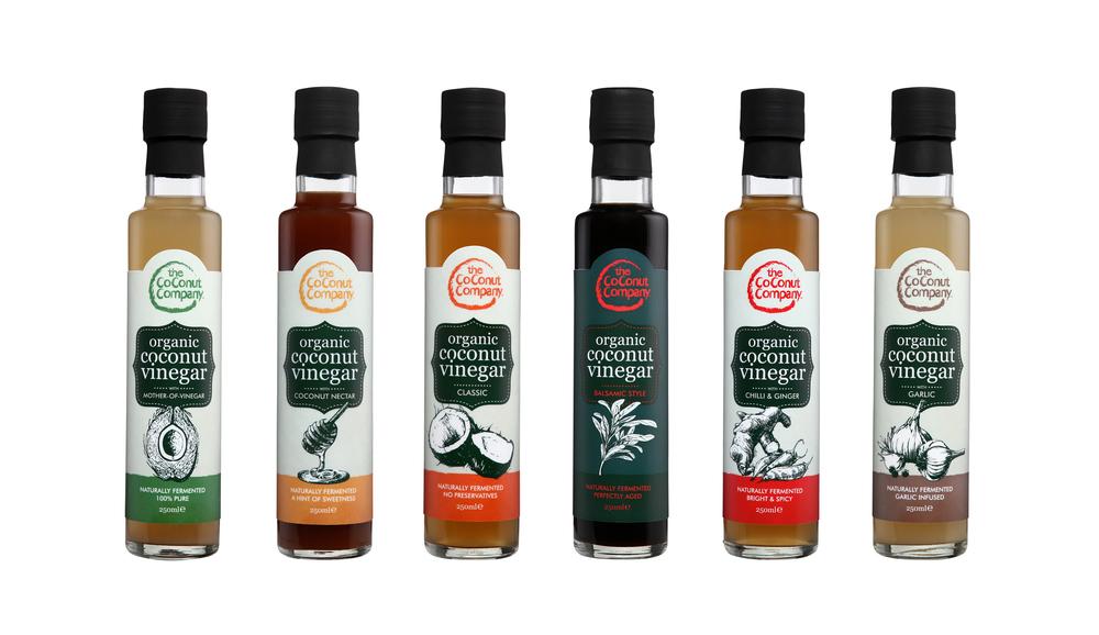 Organic Coconut Vinegar - 6 Flavours.jpg