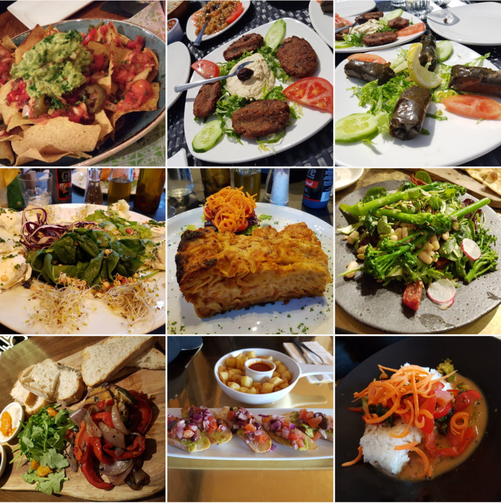 Delicious vegan eats in London