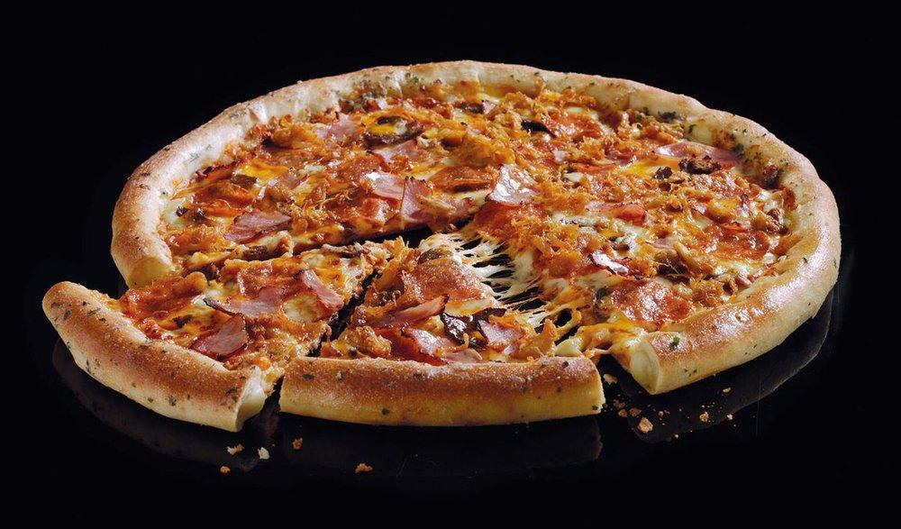 Vegan at Pizza Hut