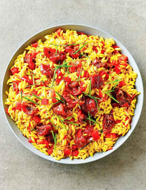 M & S - orzo pasta and roasted tomato salad.jpg