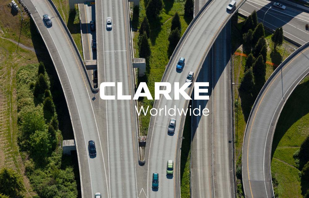Clarke Worldwide Logotype