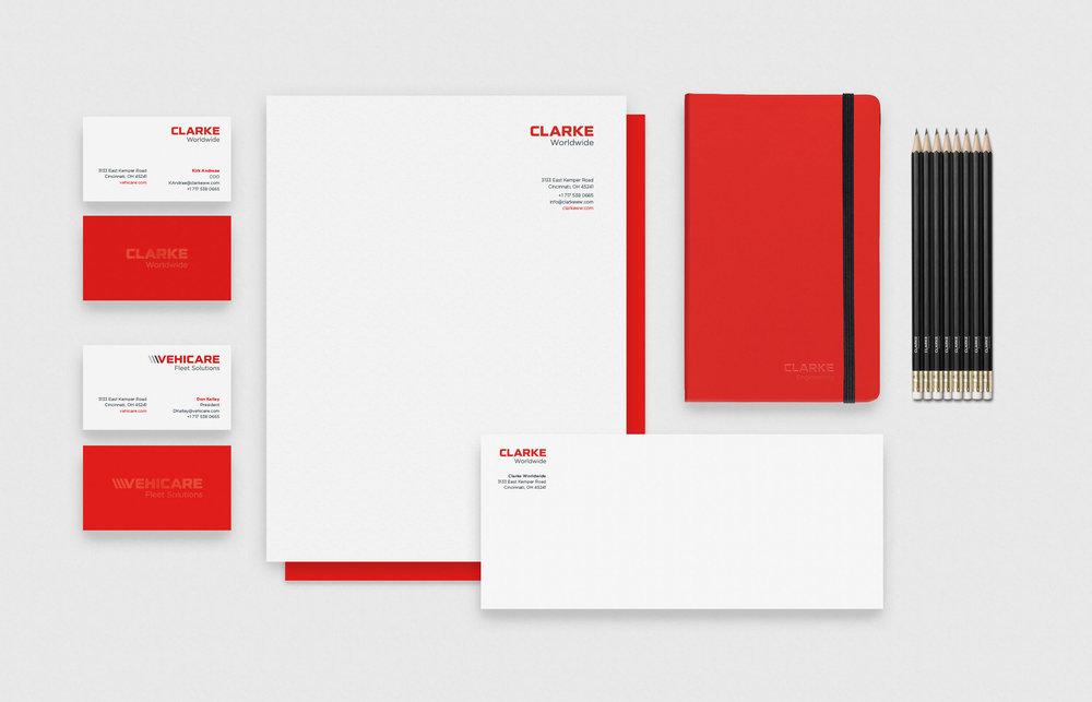 Clarke Worldwide stationery