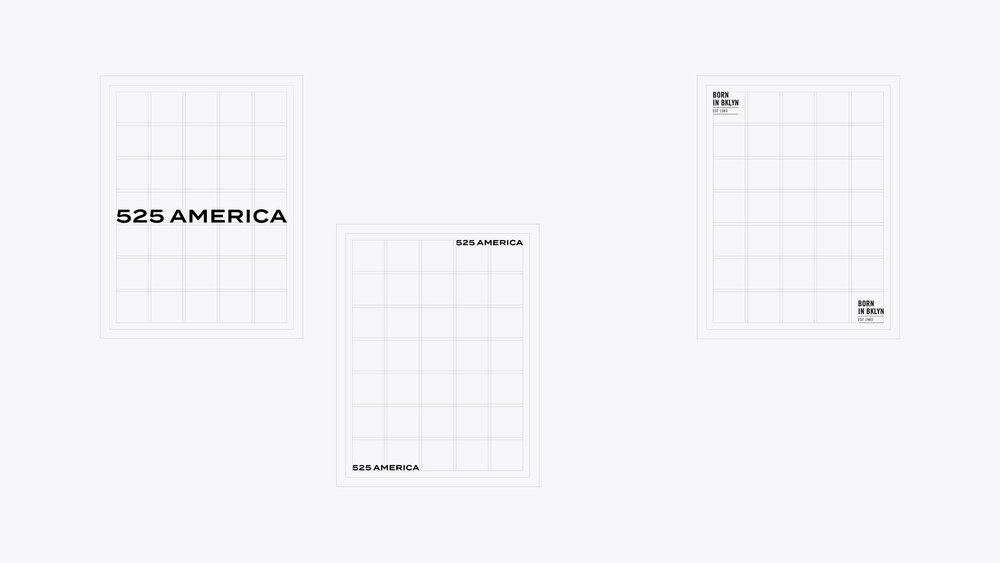 525 America Business collateral