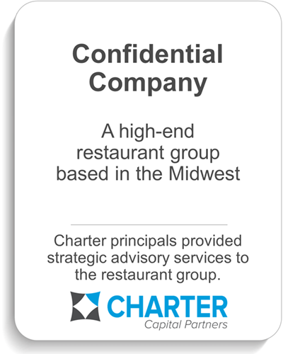 A midwest oil field services provider in Kalkaska, Michigan, was acquired by Generations Managment, LLC in Traverse City, Michigan. Charter served as exclusive investment banking advisor to the shareholders of Team Services, LLC.