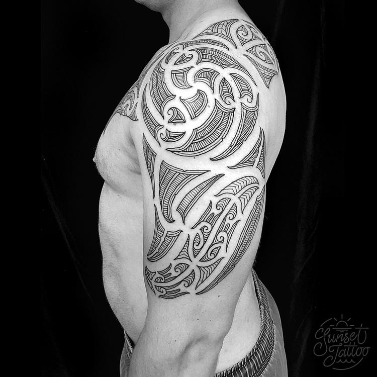 Tattoo Ideas New Zealand: Sunset Tattoo NZ