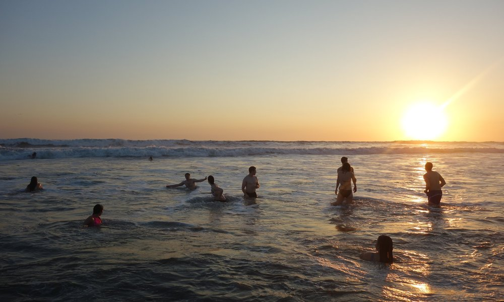 GO REMOTE! OVERNIGHTS In a Blissful Northern PAcific Beach Town Spend 2 days in Northern Nica along the pristine coast of the Pacific Ocean. Sunsets, swimming, and a rustic beach house make this experience a true highlight of the program.