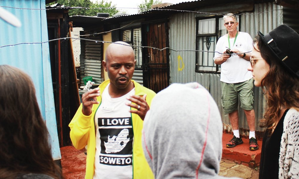 Meet with Leaders in Local Townships   Meet with leadership and non-profit founders working in the townships outside of Joburg. Plus, engage in a volunteer project to support local community development and childhood education.