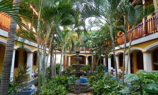 Interior of the Hotel Cocibolca