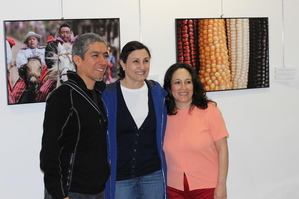 James Rodríguez, Jean-Marie Simon y/and Ana Lucía Cuevas.