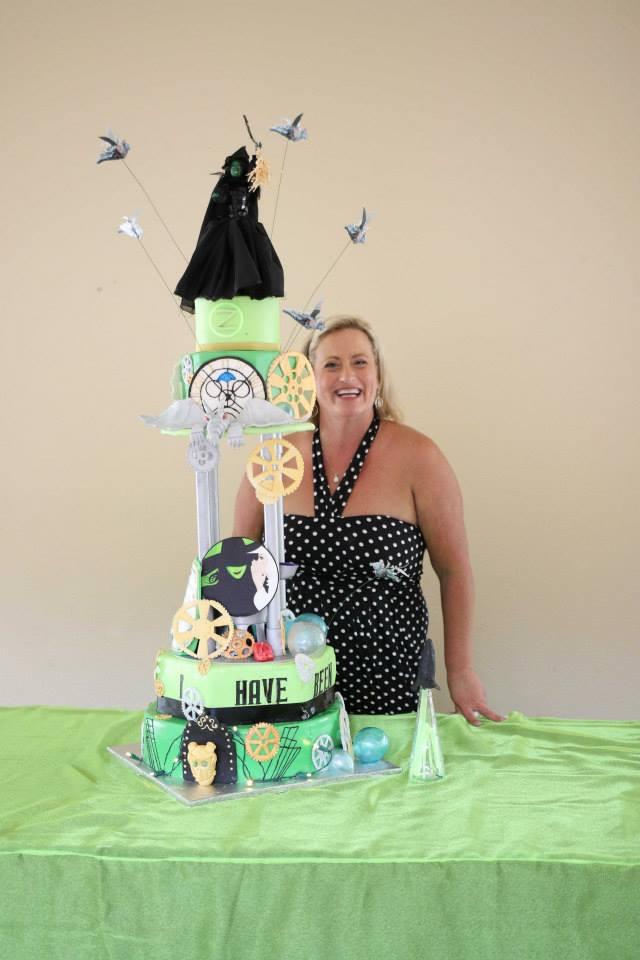 Wicked Wedding Cake