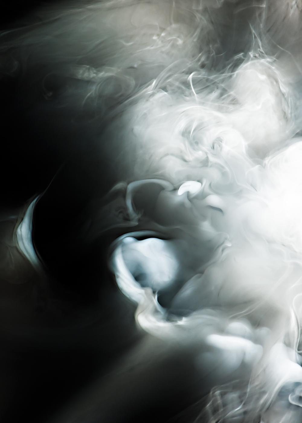 """Smoke & Mirrors #1   pigment print, aluminum, wood, plexiglass, 60"""" x 84"""""""