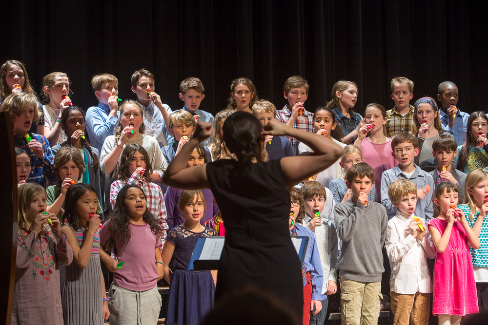 Meridian School 4th and 5th Grade Concert To see images click Here